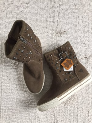 -8- Venice Ankle Boots light brown