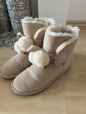 Esprit Buty śniegowe kremowy