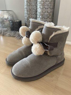 Boots Esprit Grau