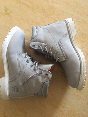 Timberland Low boot gris clair-blanc