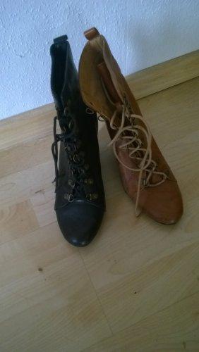 boots Größe 38 schwarz und braun