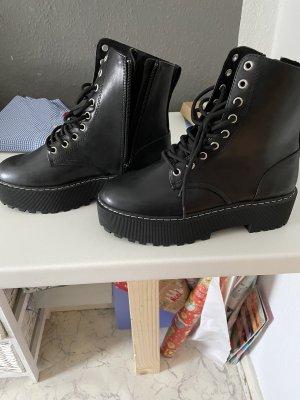 Devided von H&M Ankle Boots black