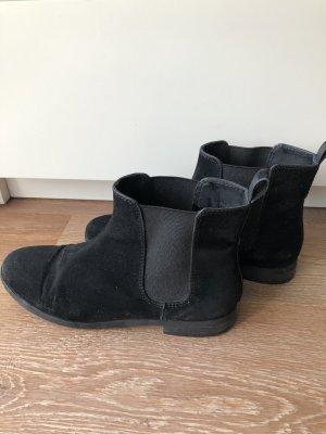 Boots H&M schwarz