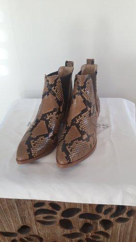 Boots im Cowboy Stil in Reptilien Optik von Paul Green, Größe 38
