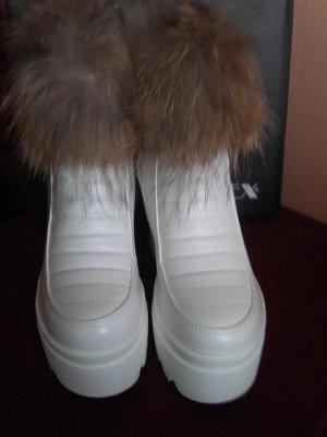 Boots Keilstiefeletten in Weiss