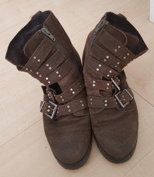 Boots khaki 39 Winterstiefel