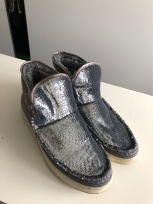 Esprit Snow Boots silver-colored-grey