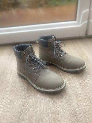 Boots Leder Gr 40 wasserdicht