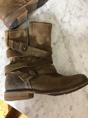 Boots Leder Vintage
