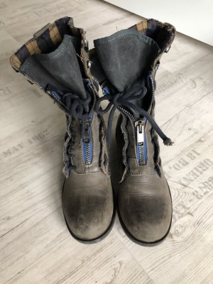 Boutique Ware Ankle Boots dark blue-slate-gray