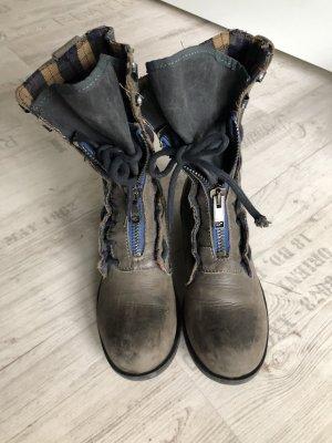 Boutique Ware Tronchetto blu scuro-grigio ardesia