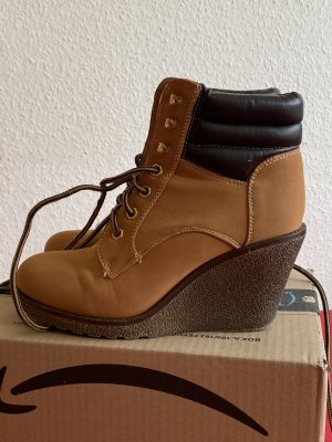 Boots mit Absatz  / Stiefeletten Gr. 39