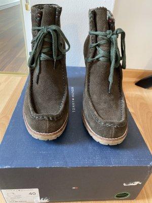 Boots mit Blockabsatz, Tommy Hilfiger
