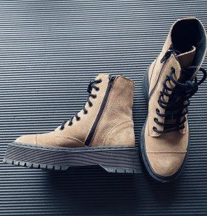 Vero Moda Platform Boots multicolored leather