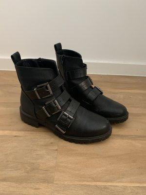Asos Western Booties black