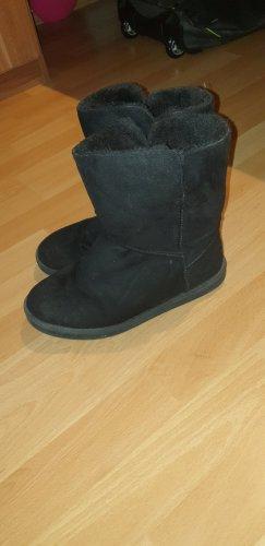 Boots schwarz winter