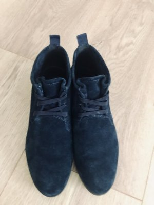 Boots/Siefeletten von 5th Avenue Gr 39 Nubukleder blau