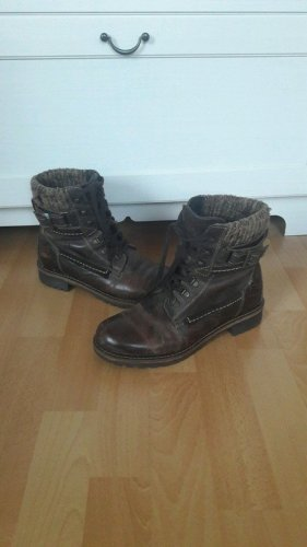 Boots Stiefel Stiefeletten Booties Strick
