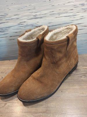 Devided von H&M Bottine d'hiver brun sable cuir