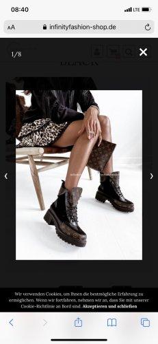 Infinity Fashion Sztyblety czarny-brązowy