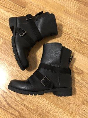 H&M Botines de invierno negro