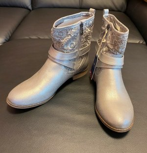 Tom Tailor Desert Boots silver-colored
