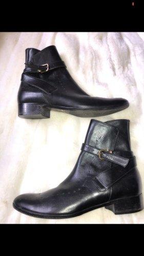 Boots Stiefeletten Leder Schuhe Designer