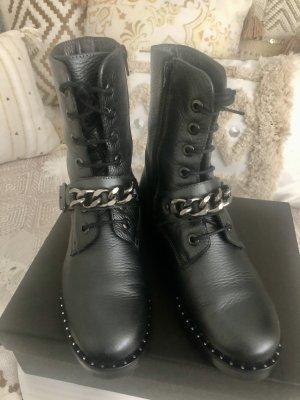 Boots Stiefeletten silber anthrazit Gr.37 NEUwertig!!