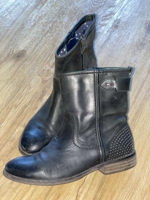 Tommy Hilfiger Chelsea laarzen zwart