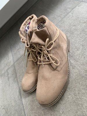 Boots Stieflette in Velourslederoptik Gr. 37