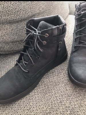 Timberland Lace-up Booties black-anthracite