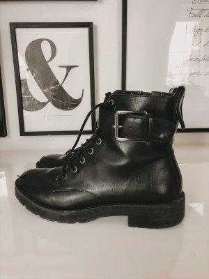 Bershka Chelsea laarzen zwart