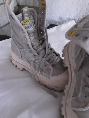 Buffalo Desert Boots white-light grey