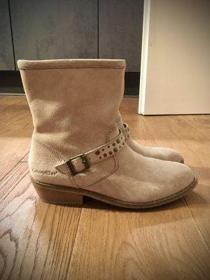 Desert Boots cream leather
