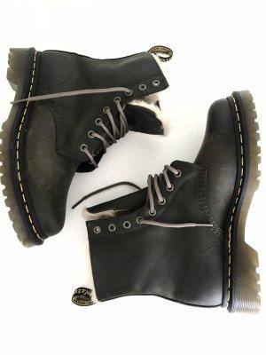 Boots von Dr. Martens, khakigrün, Schnürer, echtes Leder, neu ohne Karton, Gr. 39