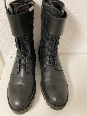 Guess Chukka boot noir cuir