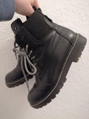 Limelight Short Boots white-black