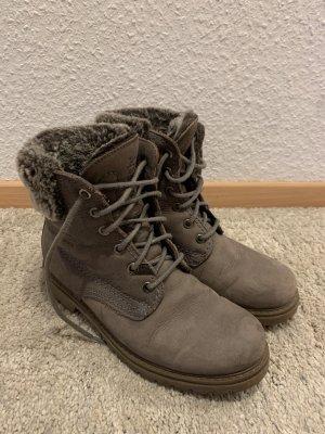 Panama jack Futrzane buty szaro-brązowy-taupe