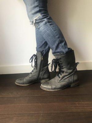 Patrizia Pepe Aanrijg laarzen antraciet