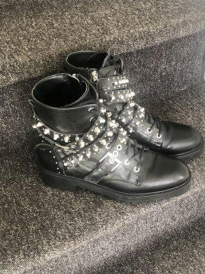 Zara Basic Ankle Boots black