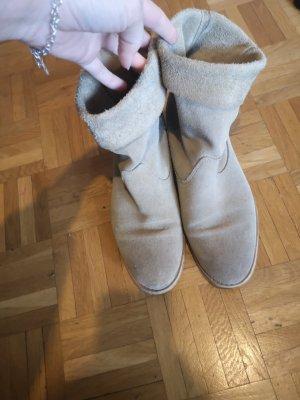 Marc O'Polo Slip-on Booties light brown