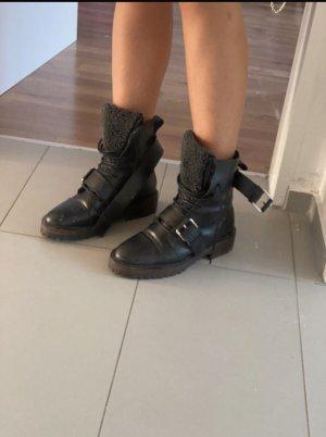 Zara Buty zimowe czarny