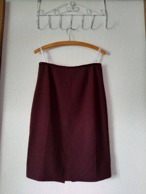 Bordeaux Bleistiftrock