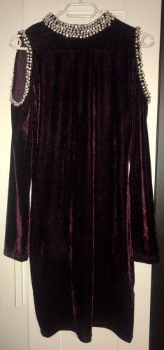 Bordeaux farbiges Kleid