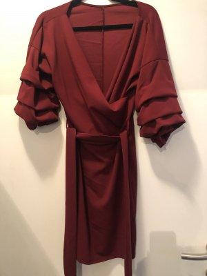 Bordeaux Kleid onesize