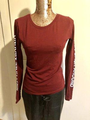 Bordeaux Langarm Shirt