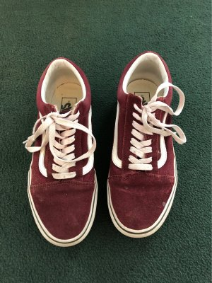 Bordeaux old school Vans