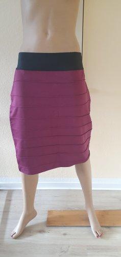 BODY FLIRT Asymmetry Skirt bordeaux