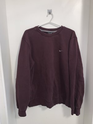 bordeaux roter nike sweater