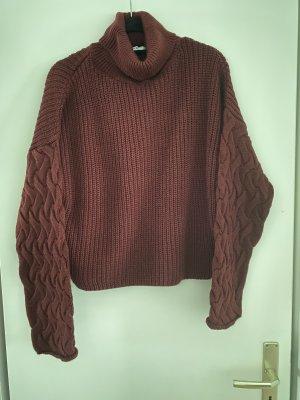 NA-KD Wełniany sweter Wielokolorowy